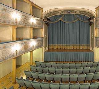 The theater season in San Gimignano Hotel