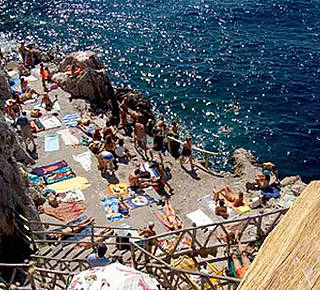 The Rocky Beach of Gradola Hotel