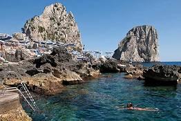 Beaches on Capri
