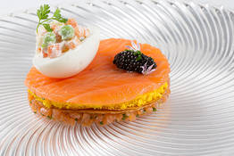 Smoked Scottish Salmon and Caviar
