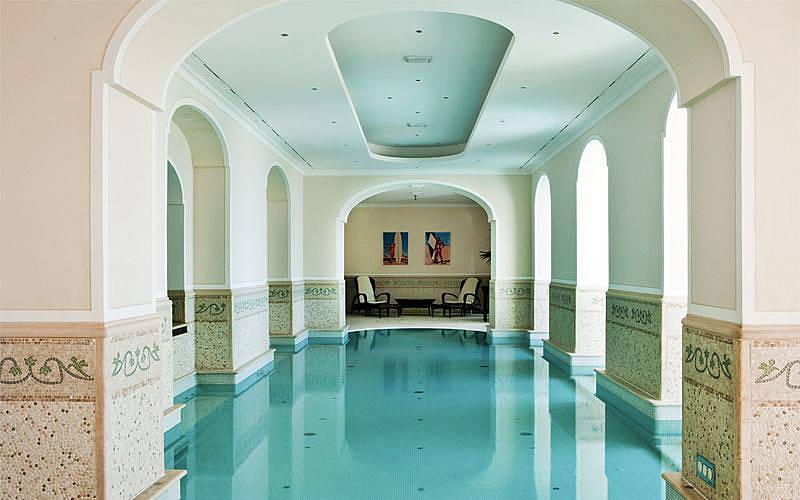 Wellness centers and luxury spas