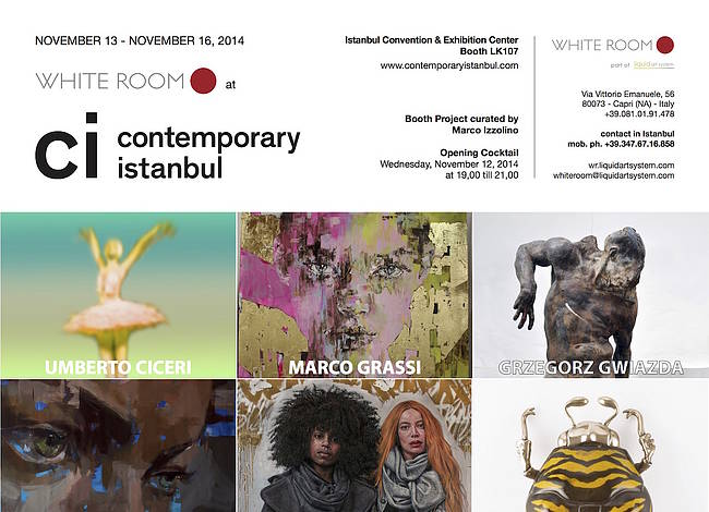 Liquid art system at Contemporary Istanbul 2014