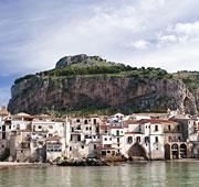 The sea beyond the strait Sicily