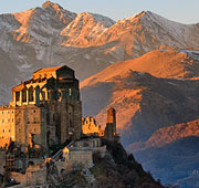 The key to Italy Piedmont and Valle d'Aosta