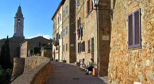 Towns of Val d'Orcia