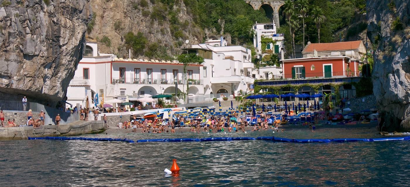 Le spiagge di Praiano
