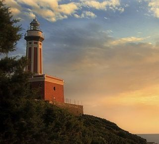 Faro/lighthouse Punta Carena Hotel