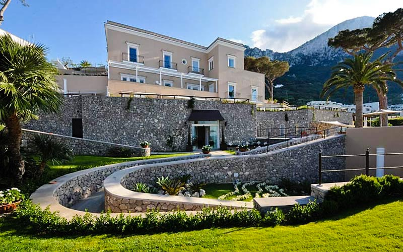 Villa Marina Capri Hotel Spa Hotels On Capri Book Online