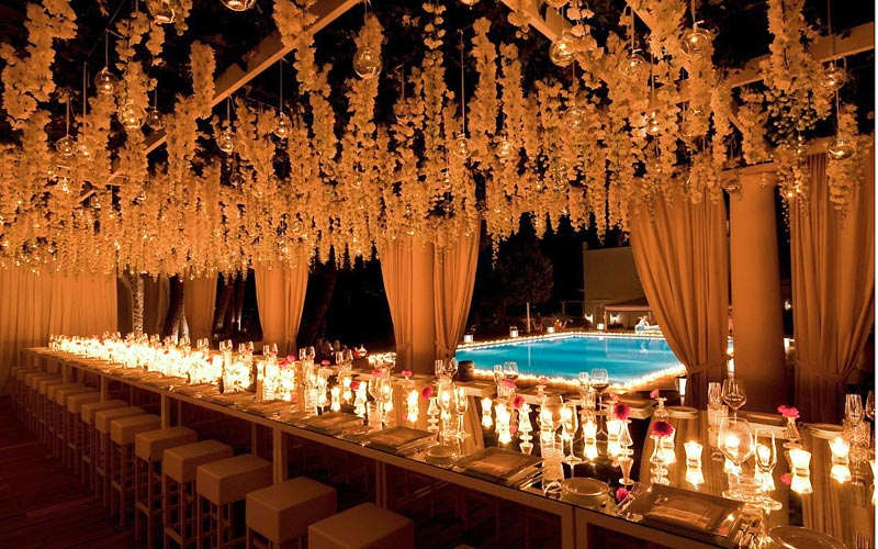Sugokuii luxury events and weddings on capri for Decoration pictures