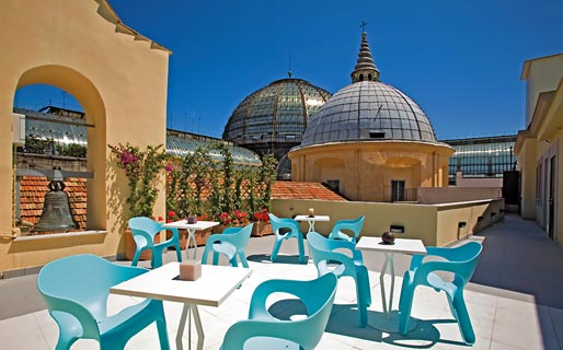 Attico partenopeo napoli and 51 handpicked hotels in the for Design hotel naples italy