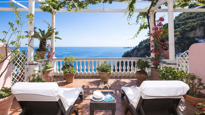 Hotel villa gabrisa positano prices and availability for Special hotels in the world