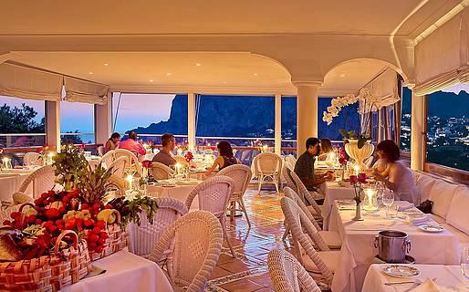 Terrazza Brunella Restaurantes Capri