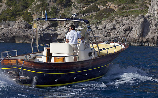 Blue Sea Capri Excursions by sea Capri