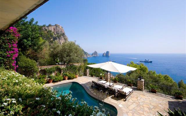 Villa faraglioni capri italy for Villas in capri