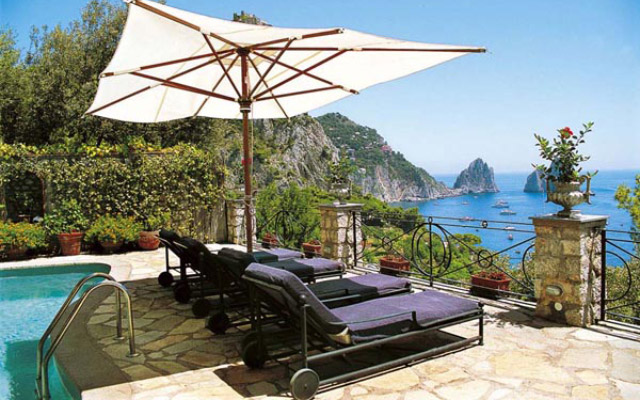 Villa Faraglioni Hotels And B Bs On Capri Italy