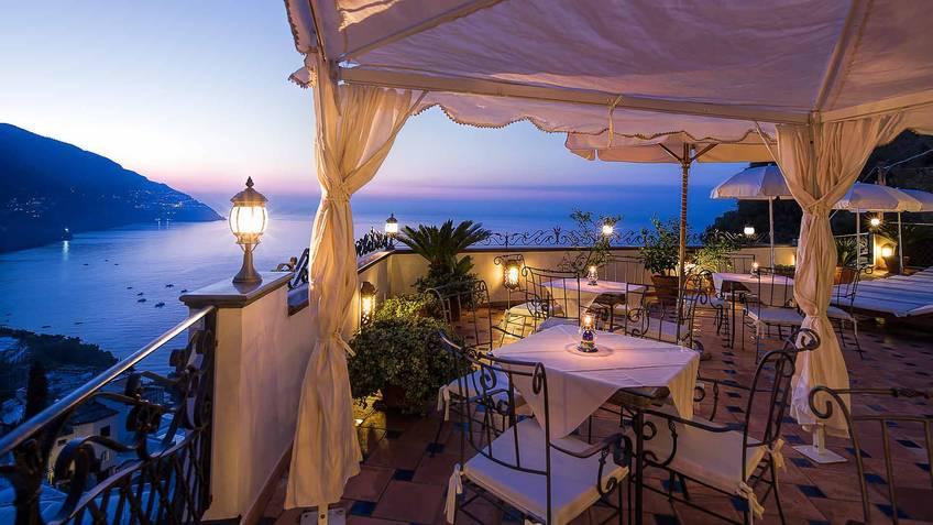 Hotel Conca d'Oro 3 Star Hotels Positano