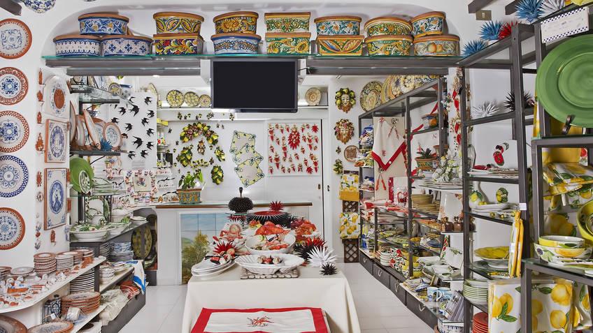 L'Oasi Ceramiche Produtos típicos Anacapri