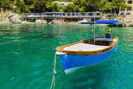 Capri Blue Boats