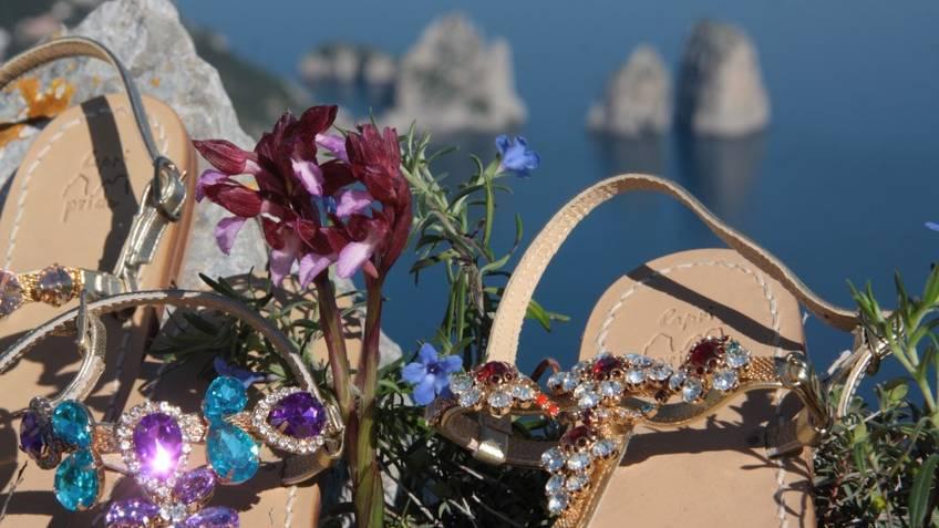 Capri Pride Sandals Fashion Capri