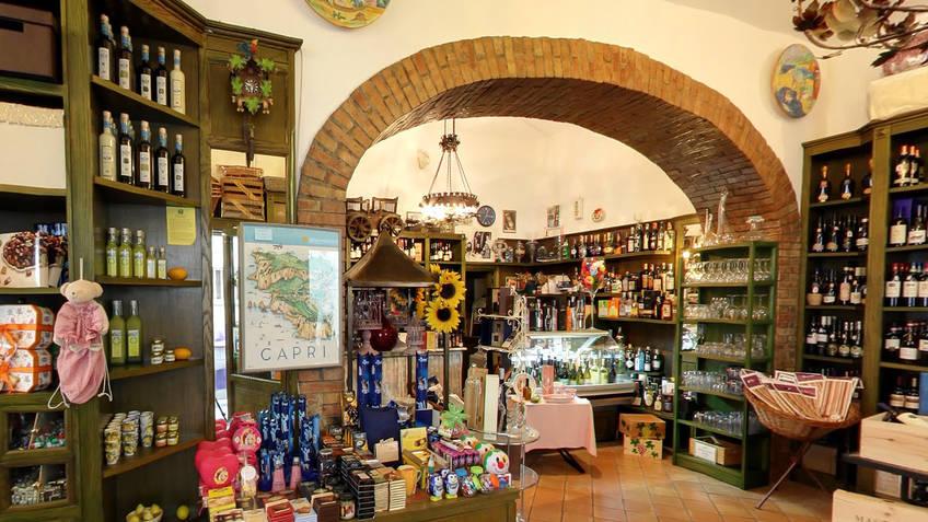 Capannina Più gourmet Local products Capri