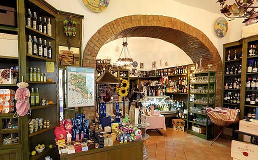Capannina Pi� gourmet Local products Capri