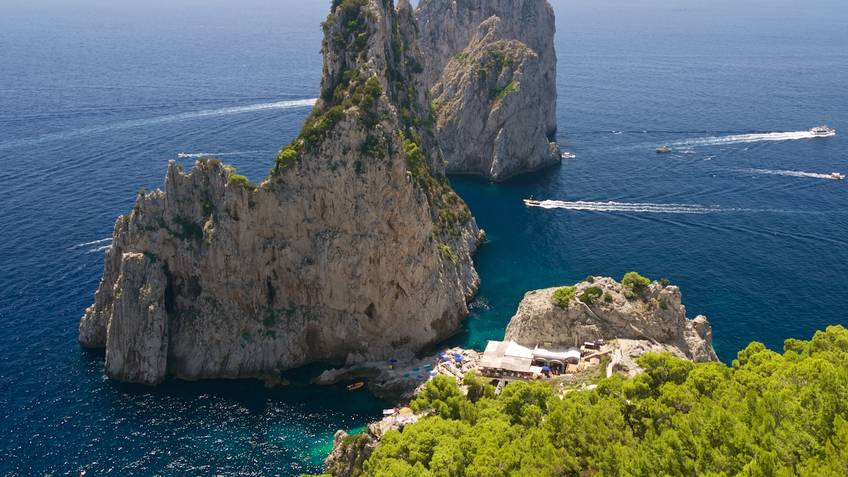 Da Luigi ai Faraglioni Restaurantes Capri