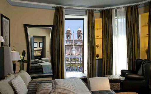 The Inn & the View at the Spanish Steps Luxury Suites and Penthouses Roma