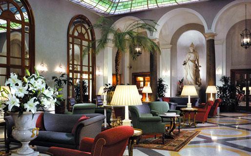 Grand Hotel De La Minerve Hotel 5 Stelle Lusso Roma