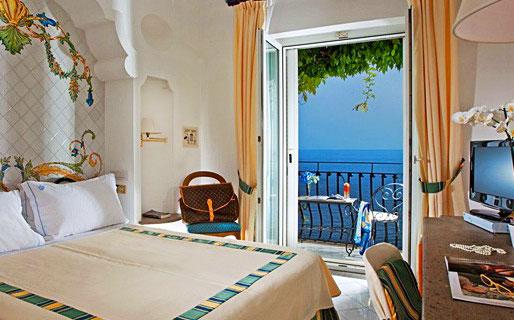 Hotel Villa Franca 4 Star Hotels Positano