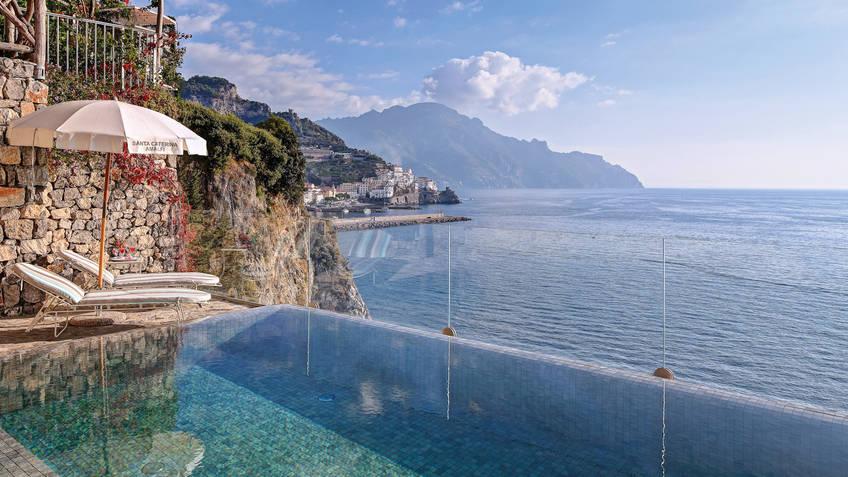 Hotel Santa Caterina Hotel 5 estrelas luxo Amalfi
